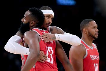 Carmelo Anthony, Houston Rockets Parting Ways: Report