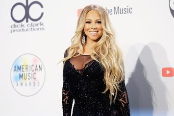 Mariah Carey Stuns In Pink Mini During Live Performance With Ty Dolla $ign