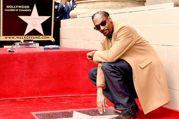 Snoop Dogg Pays Tribute To Dr. Dre During Walk Of Fame Star Ceremony