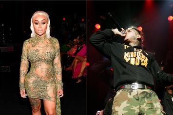 "Blac Chyna Wants 6ix9ine To Remain In Prison: ""Free Never Mind"""