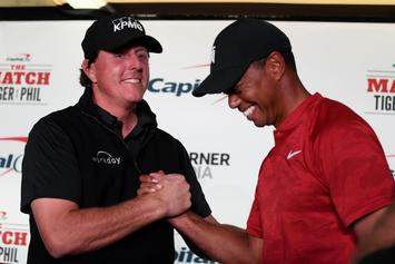 Tiger Woods, Phil Mickelson Make $200,000 Side Bet Ahead Of 1-On-1