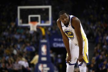 Kevin Durant Reacts To $25K Fine For Cursing Out Heckler: Video