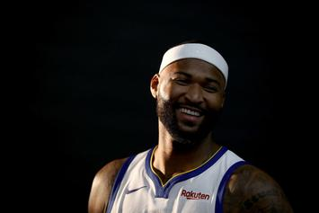 """DeMarcus Cousins Eyeing Return """"Sometime After Christmas"""": Report"""