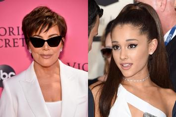 "Ariana Grande Speaks On Working With Kris Jenner For ""Thank U, Next"" Video"