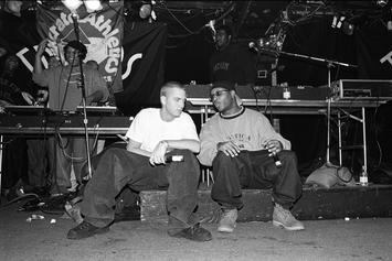 "Royce Da 5'9"" & Eminem Are ""Bad Ass Lil Back Packers"" In Throwback Photo"