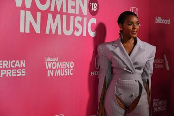 Janelle Monae Rocks Striped Chaps At Billboard Women In Music Awards