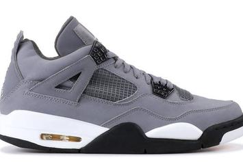 """Cool Grey"" Air Jordan 4s Rumored To Return In 2019"