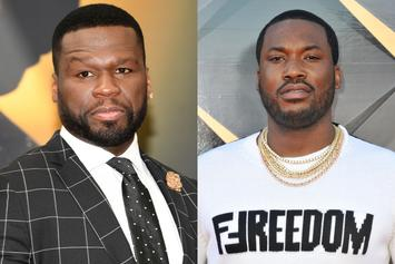 50 Cent & Meek Mill Troll 6ix9ine's Girlfriend For Her Matching Tattoo