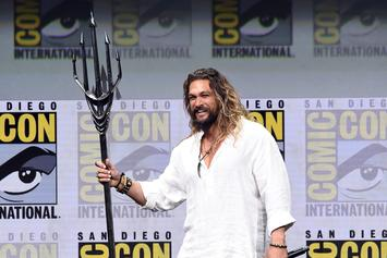 """Aquaman"" Actor Jason Momoa Reveals That He Was ""Constantly Crying"" On Set"