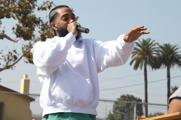 Nipsey Hussle Throws Punches In Violent Brawl Outside L.A. Nightclub