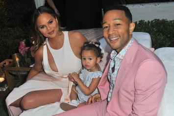 "John Legend & Chrissy Teigen Enter The ""King Of R&B"" Debate"