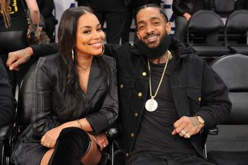 Lauren London Denies Rumors She Got Secretly Married To Nipsey Hussle