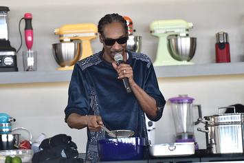 """Snoop Dogg Releases New Cookbook For Holidays """"From Crook To Cook"""""""