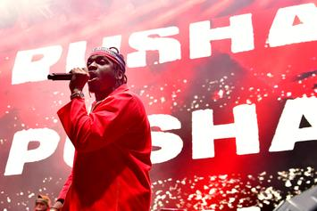 Pusha T's Cartier Bracelet Returned By Fan After Losing It At Concert