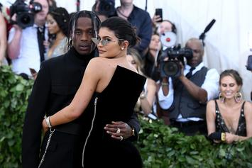 """Kylie Jenner Defends Travis Scott Over Claims Of Being """"Petty"""" Towards Kanye West"""