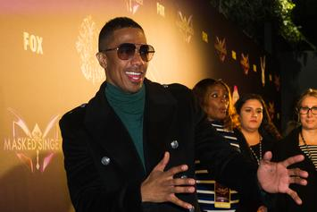 Nick Cannon Performs Spiritual Spoken Word
