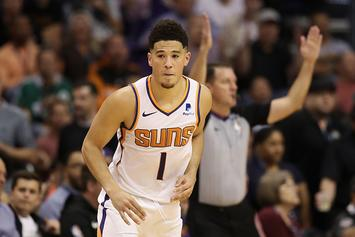 Suns' Devin Booker Trolls Enes Kanter Following Victory At MSG
