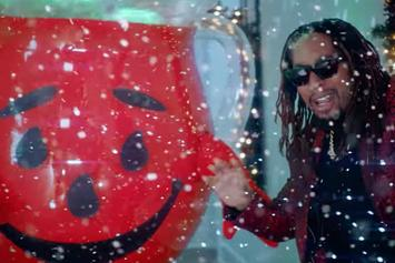 """Lil Jon Links With The Kool-Aid Man For """"All I Really Want For Christmas"""""""