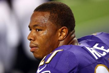 "Ray Rice Speaks On Domestic Violence, Says He's ""Done With Football"""