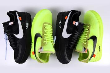 Off-White x Nike Air Force 1 Low Releasing Today: Purchase Links