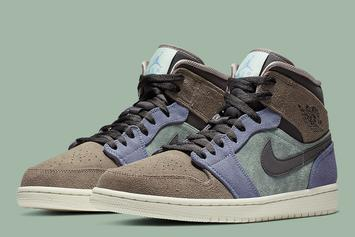 Nike Unveils Suede Air Jordan 1 Mid That Takes Inspiration From Aleali May