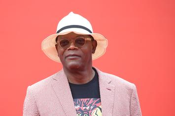 Samuel L. Jackson's 70th Birthday Vest Listed Every Movie He's Starred In