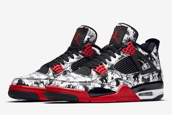 "Air Jordan 4 ""Tattoo"" Set To Release Next Week: Official Images"