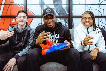 Donovan Mitchell Unveils Adidas Signature Sneaker: D.O.N Issue #1