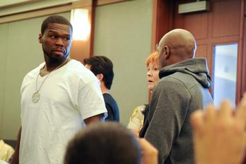 "50 Cent To Floyd Mayweather: ""You Ain't Got Sh*t On Me N***a"""