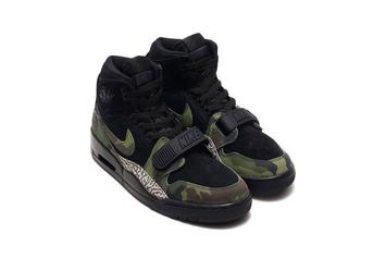 Jordan Legacy 312 In Black Camo And Elephant Print Released Today