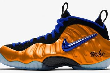 "Nike Air Foamposite Pro ""Knicks"" Colorway Rumored For 2019"