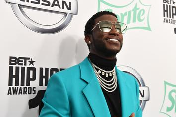 Gucci Mane Is Not Impressed With This Painting Of Him With A Lazy Eye