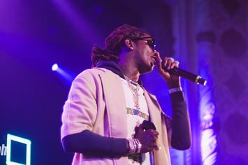 """Young Thug Posts Up With His Latest """"Luv,"""" Juice WRLD"""