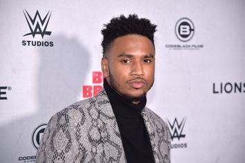 Trey Songz & Lori Harvey Inseparable During NYE Celebration