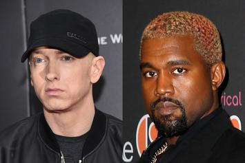 Eminem & Kanye West Lead Spotify's Top Workout Songs Of All Time List