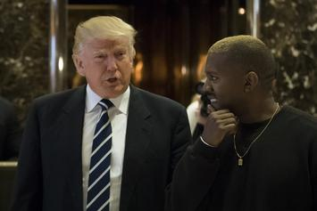Kanye West Gets Shout Out From Trump During First Cabinet Meeting Of 2019