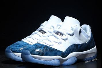"Air Jordan 11 Low ""Snakeskin"" Release Details Revealed: New Images"