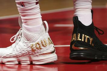 "LeBron 16 To Get ""Equality"" Version"