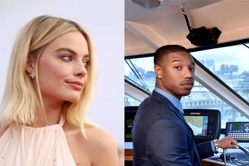 "Michael B. Jordan & Margot Robbie Reflect On Shooting ""In the Nude"""