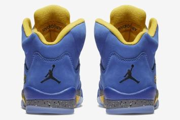 "Air Jordan 5 ""Laney"" Gets Official January Release Date"