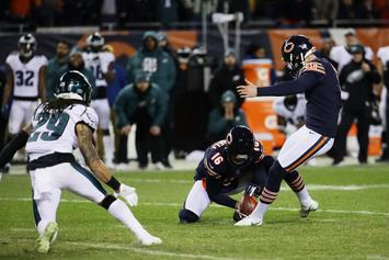 Chicago Bears Kicker Cody Parkey Upset Over Missed Field Goal