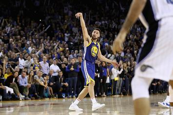 Klay Thompson Needed Just Four Dribbles To Score 43 Points Vs Knicks: Video