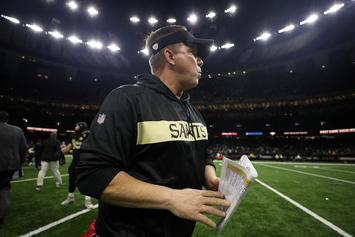 Sean Payton Teases Saints Locker Room With Lombardi Trophy And $200K Cash