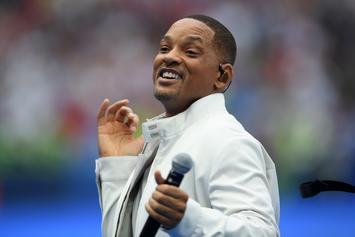 """Will Smith Hilariously Dances To """"N***as In Paris"""" While In Paris"""