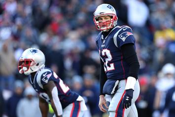Tom Brady Works Out To 50 Cent Ahead Of AFC Championship Game