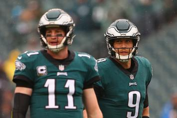 Nick Foles And Carson Wentz Comment On Eagles QB Situation