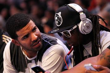 "Lil Wayne Gifts Drake With Custom OVO ""6"" Chain"