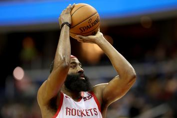 James Harden Breaks Rockets Record For Most Consecutive 30-Point Games