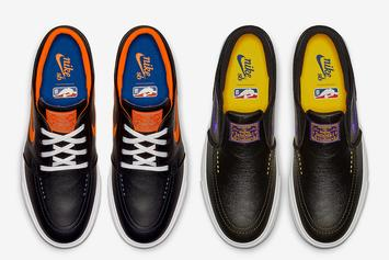 Knicks & Lakers Themed Nike Janoski Sneakers Coming Soon: Release Info