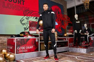 """Knicks' Kevin Knox Debuts Puma Clyde Court """"London"""" PE For UK Game"""